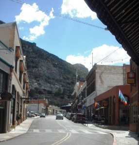 Main Drag in Bisbee