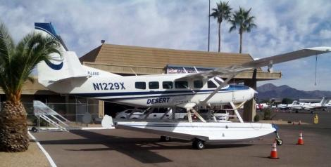 This plane goes on excursions and yes, lands on lakes!