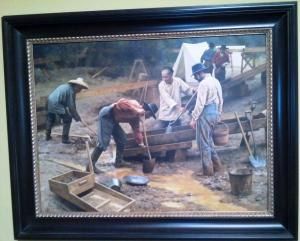 Benjamin Wu Miners in California Gold Rush