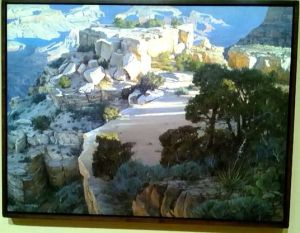 Arturo Chavez Majestic Moran Sunrise Gold Medal Painting
