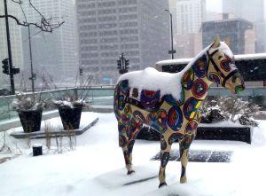 Horse at Hyatt 2