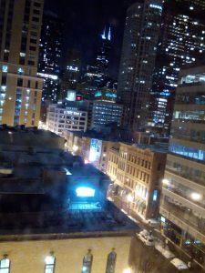 Nighttime Awesome Skyline