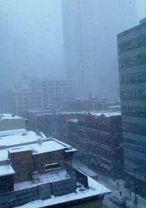 Daytime Thursday Snow