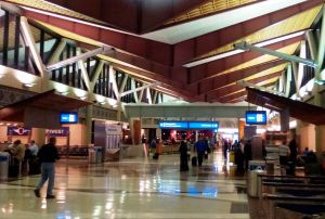 Terminal 4, Gate D.  A place of beauty.
