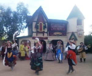 Dancing at the Renaissance Faire