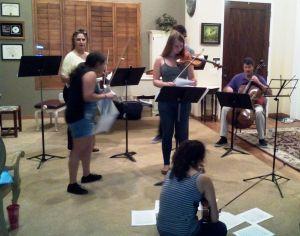 Rehearsal 1