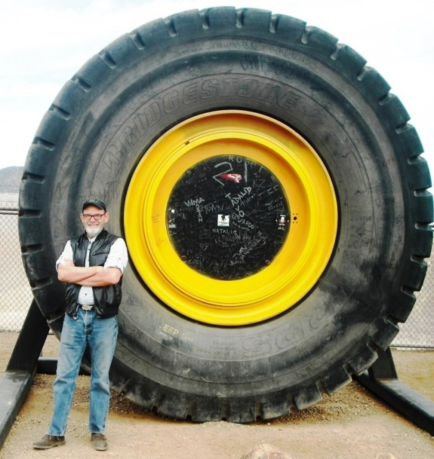 Pic 18 Big Tire with Alan Olee
